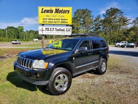 2006 Jeep Grand Cherokee for sale at Lewis Motors LLC in Deridder LA