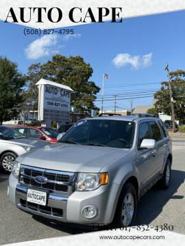 2008 Ford Escape for sale at Auto Cape in Hyannis MA