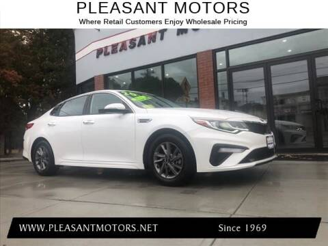 2020 Kia Optima for sale at Pleasant Motors in New Bedford MA