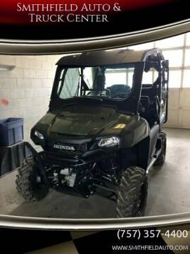 2021 Honda Pioneer 700-4 for sale at Smithfield Auto & Truck Center in Smithfield VA