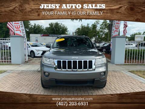 2013 Jeep Grand Cherokee for sale at JEISY AUTO SALES in Orlando FL