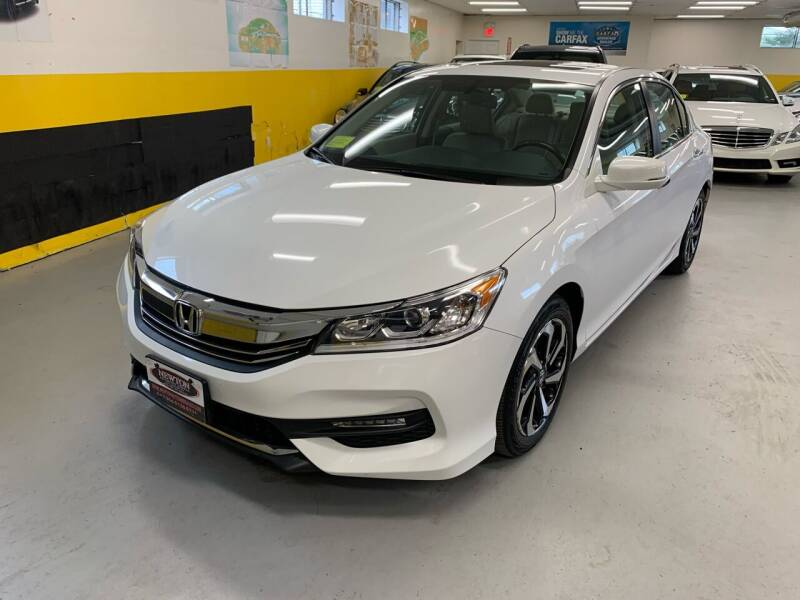 2016 Honda Accord for sale at Newton Automotive and Sales in Newton MA
