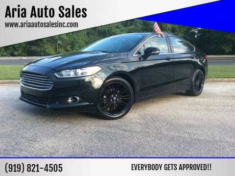2014 Ford Fusion for sale at ARIA  AUTO  SALES in Raleigh NC