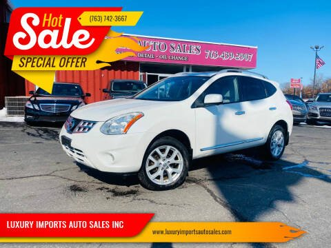 2012 Nissan Rogue for sale at LUXURY IMPORTS AUTO SALES INC in North Branch MN