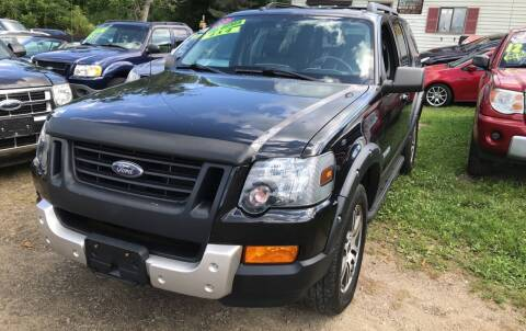 2007 Ford Explorer for sale at Richard C Peck Auto Sales in Wellsville NY