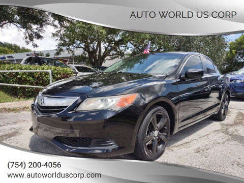 2014 Acura ILX for sale at Auto World US Corp in Plantation FL