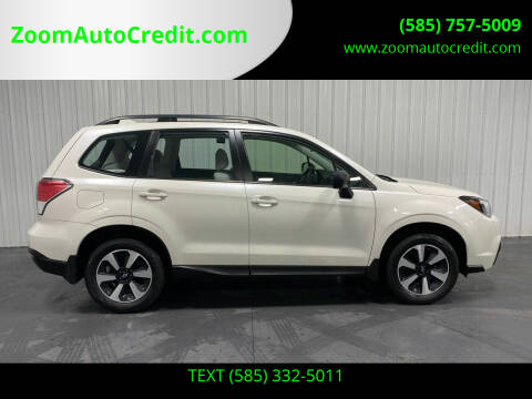 2017 Subaru Forester for sale at ZoomAutoCredit.com in Elba NY