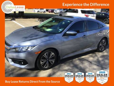 2017 Honda Civic for sale at Dallas Auto Finance in Dallas TX