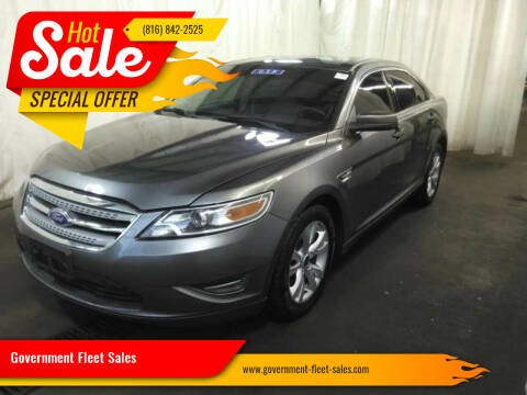 2012 Ford Taurus for sale at Government Fleet Sales in Kansas City MO