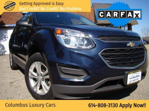 2016 Chevrolet Equinox for sale at Columbus Luxury Cars in Columbus OH