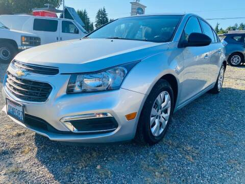 2016 Chevrolet Cruze Limited for sale at House of Hybrids in Burien WA
