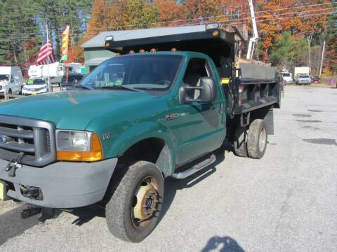 2001 Ford F-450 Super Duty for sale at Jons Route 114 Auto Sales in New Boston NH