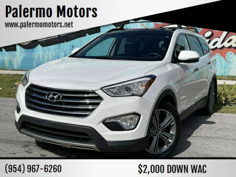 2016 Hyundai Santa Fe for sale at Palermo Motors in Hollywood FL