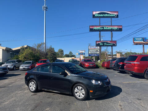2011 Chevrolet Cruze for sale at Boardman Auto Mall in Boardman OH