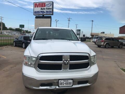 2014 RAM Ram Pickup 1500 for sale at MB Auto Sales in Oklahoma City OK