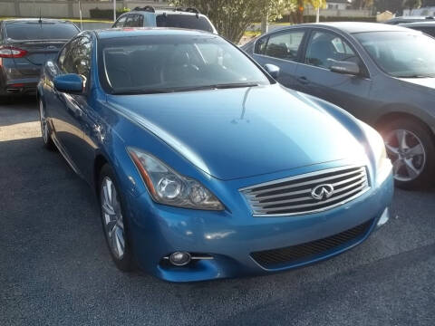 2011 Infiniti G37 Coupe for sale at PJ's Auto World Inc in Clearwater FL