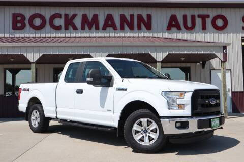 2016 Ford F-150 for sale at Bockmann Auto Sales in Saint Paul NE