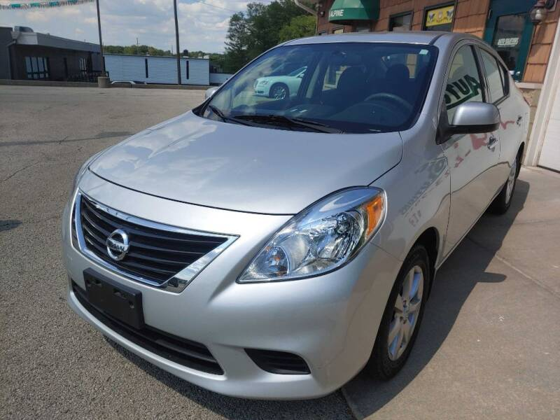 2014 Nissan Versa for sale at Auto Solutions of Rockford in Rockford IL