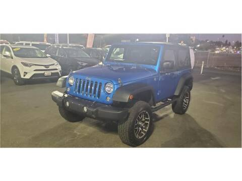 2015 Jeep Wrangler for sale at AutoDeals in Hayward CA