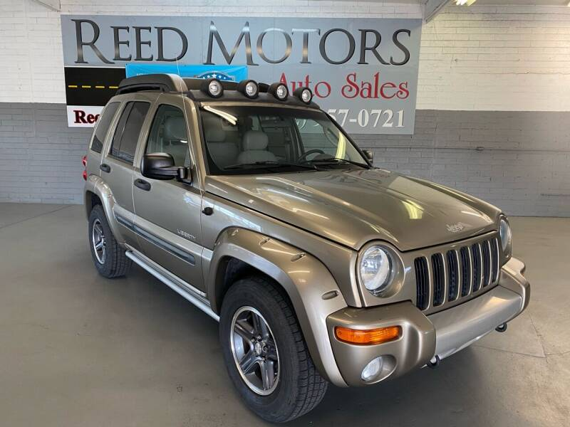 2004 Jeep Liberty for sale at REED MOTORS LLC in Phoenix AZ