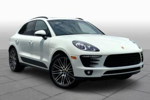 2015 Porsche Macan for sale at CU Carfinders in Norcross GA