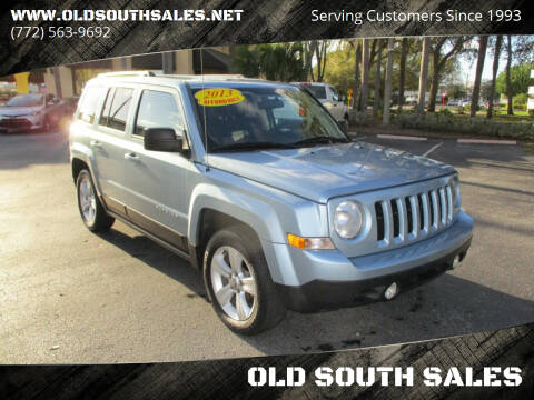 2013 Jeep Patriot for sale at OLD SOUTH SALES in Vero Beach FL