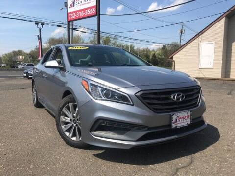 2016 Hyundai Sonata for sale at PAYLESS CAR SALES of South Amboy in South Amboy NJ