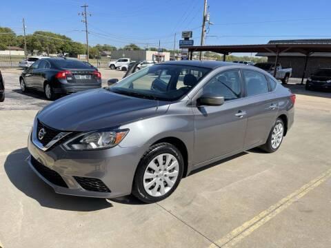 2016 Nissan Sentra for sale at Kansas Auto Sales in Wichita KS