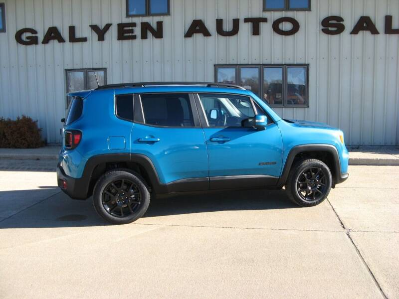 2020 Jeep Renegade for sale at Galyen Auto Sales Inc. in Atkinson NE