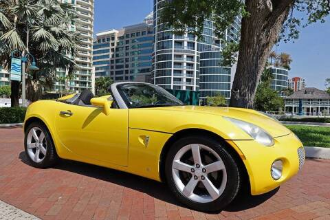 2008 Pontiac Solstice for sale at Choice Auto in Fort Lauderdale FL