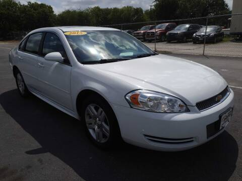 2015 Chevrolet Impala Limited for sale at Auto Solution in San Antonio TX