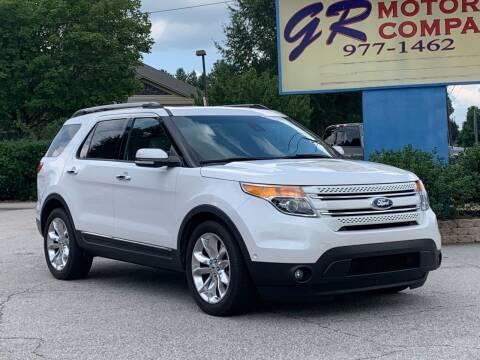 2013 Ford Explorer for sale at GR Motor Company in Garner NC