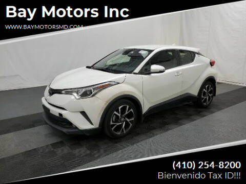 2018 Toyota C-HR for sale at Bay Motors Inc in Baltimore MD