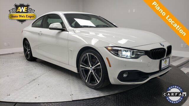 2018 BMW 4 Series for sale in Carrollton, TX