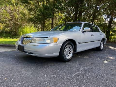 1998 Lincoln Town Car for sale at Lenoir Auto in Lenoir NC
