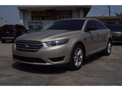 2018 Ford Taurus for sale at Credit Connection Sales in Fort Worth TX