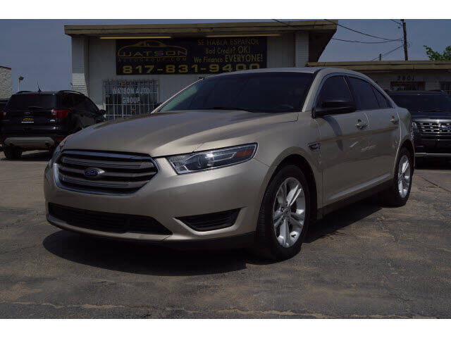 2018 Ford Taurus for sale at Watson Auto Group in Fort Worth TX
