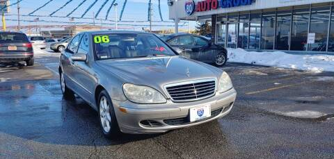 2006 Mercedes-Benz S-Class for sale at I-80 Auto Sales in Hazel Crest IL