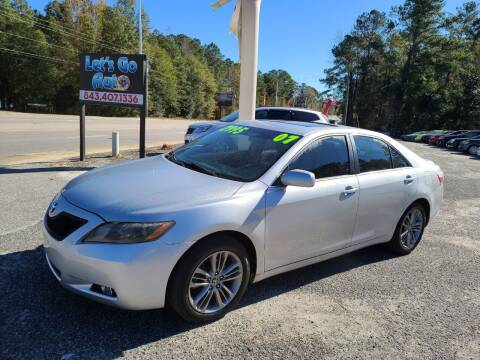2007 Toyota Camry for sale at Let's Go Auto in Florence SC
