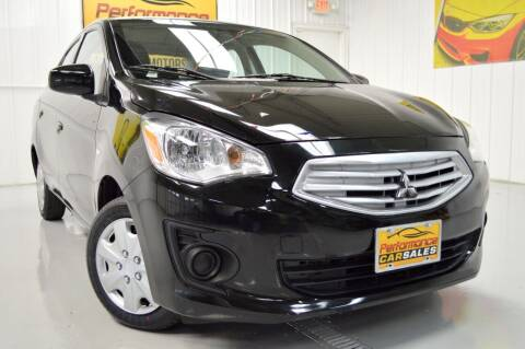 2017 Mitsubishi Mirage G4 for sale at Performance car sales in Joliet IL