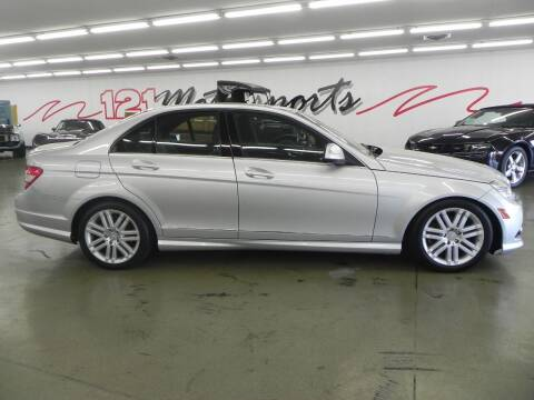 2009 Mercedes-Benz C-Class for sale at 121 Motorsports in Mount Zion IL