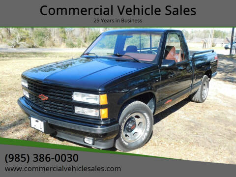 1990 Chevrolet C/K 1500 Series for sale at Commercial Vehicle Sales in Ponchatoula LA