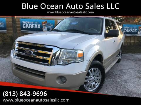 2010 Ford Expedition EL for sale at Blue Ocean Auto Sales LLC in Tampa FL