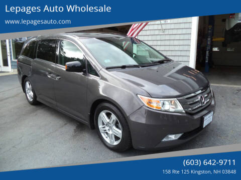 2013 Honda Odyssey for sale at Lepages Auto Wholesale in Kingston NH
