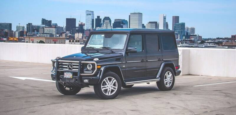 2015 Mercedes-Benz G-Class for sale at Elmwood D+J Auto Sales in Agawam MA
