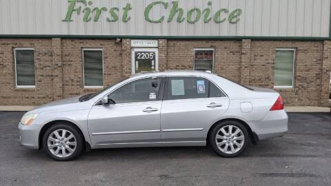 2007 Honda Accord for sale at First Choice Auto in Greenville SC