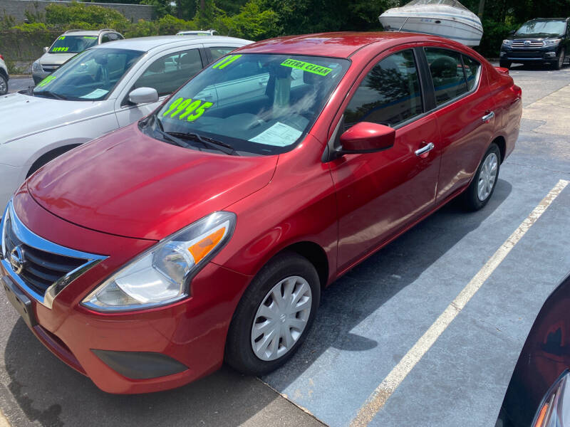 2017 Nissan Versa for sale at TOP OF THE LINE AUTO SALES in Fayetteville NC