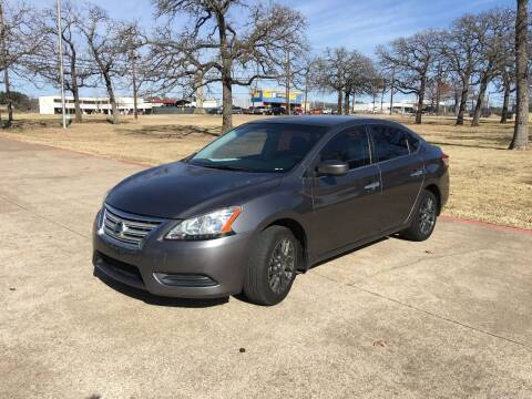 2015 Nissan Sentra for sale at RP AUTO SALES & LEASING in Arlington TX