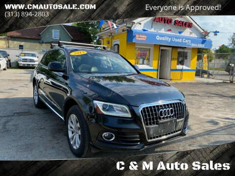 2013 Audi Q5 for sale at C & M Auto Sales in Detroit MI