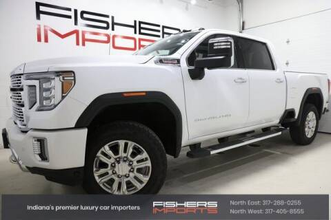 2021 GMC Sierra 3500HD for sale at Fishers Imports in Fishers IN